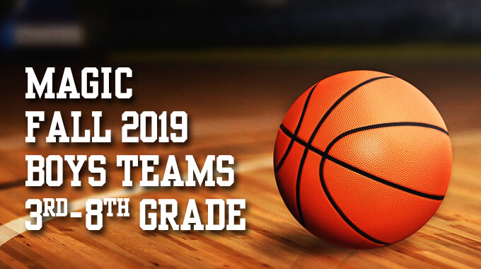 Fall 2019 Tryouts For Boys Teams 3rd-8th Grade