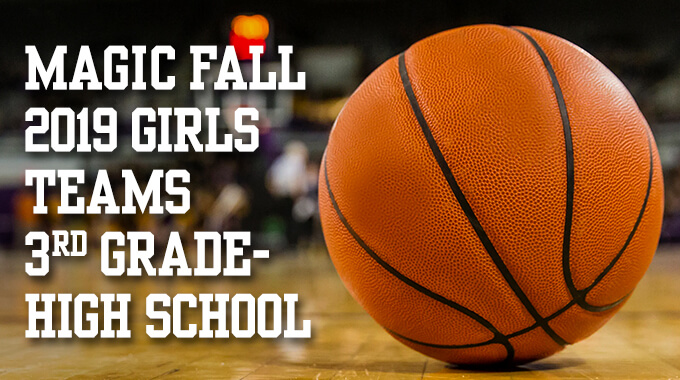 Fall 2019 Tryouts For Girls Teams 3rd Grade-High School